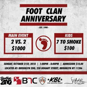 Foot Clan Anniversary Jam 2018