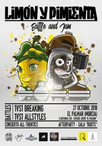 Limon Y Pimienta Battle & Jam 2018