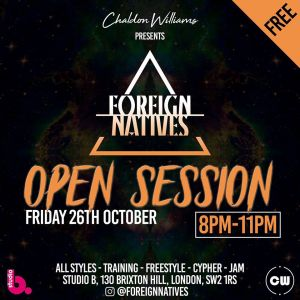 Foreign Natives: Open Session 2018