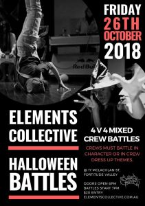 Elements Collective Halloween Battles 2018