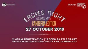 Ladies Night - Canberra Edition 2018