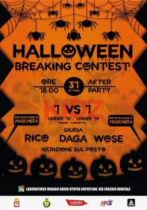 Halloween Breaking Contest 2018