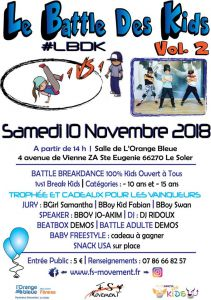 Le Battle Des Kids 2018