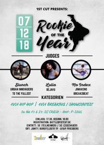 Rookie of the Year - Winter Edition 2018 + Showcontest