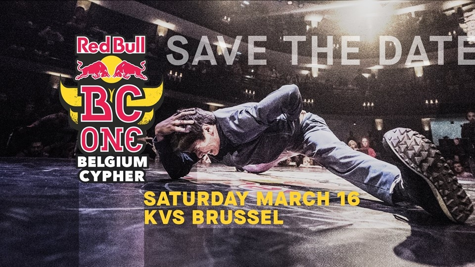 Red Bull BC One Belgium Cypher 2019 poster