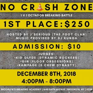 No Crash Zone 2018