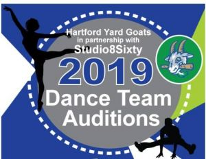 Yard Goats Dance Team Auditions 2018
