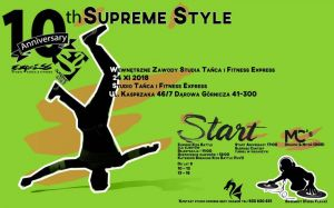 10th Aniversary Supreme Style 2018