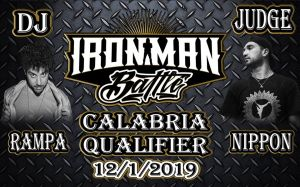 Iron Man Battle Calabria Qualifier 2018