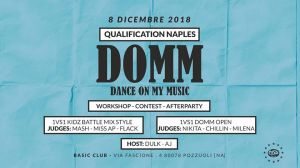 DOMM - Dance On My Music 2018
