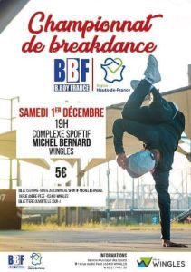 Break Dance Hauts de France 2018