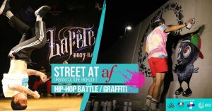 Street at AF: B-Boy Battle & Graffiti sessions 2018