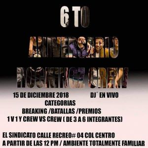 6to Aniversario Rockingz Crew 2018