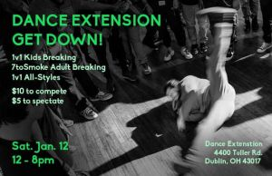 Dance Extension Get Down! 2019