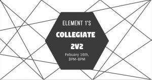 Element 1 Collegiate 2v2 2019