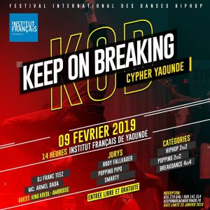 Keep on breaking cypher yaoundé 2019
