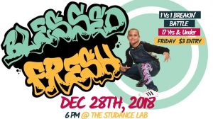 Blessed Fresh Breakin' Battle 2018