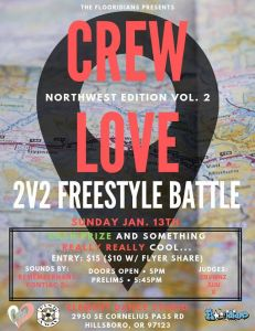 Crew Love Northwest 2