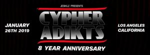 Cypher Adikts 8 Years Anniversary 2019