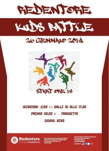 Redentore KIDS Battle 2019