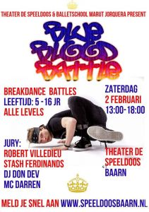 BLUE BLOOD Battle -All levels Breakdance Battle 2019