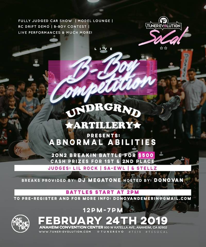 Abnormal Abilities 2019 poster