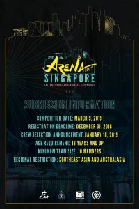 ARENA Singapore Dance Competition 2019