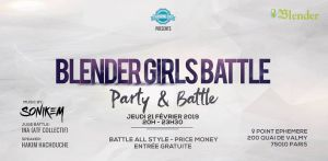 Blender Girls Battle 2019