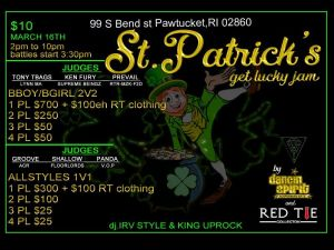 St.Patrick's Get Lucky Jam 2019