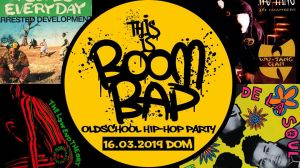 This is Boom Bap 3 - Oldschool Hip Hop Party 2019