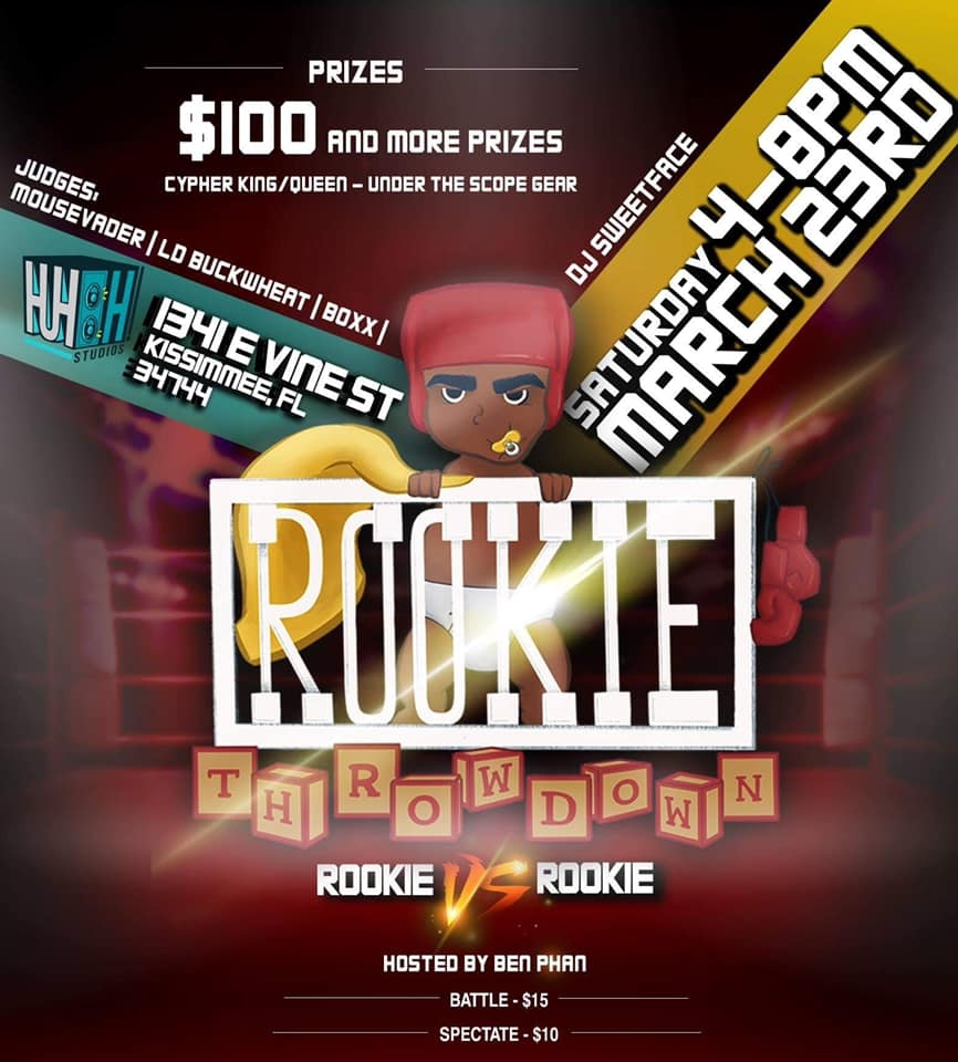 Rookie Throwdown 3 2019 poster