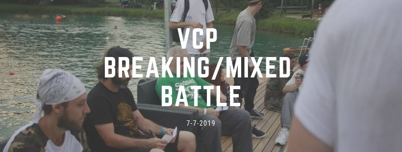 VCP Breaking/Mixed Battle 2019 poster