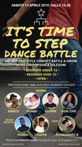 It's Time to Step Dance Battle 2019