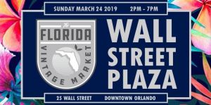 The Florida Vintage Market at Wall St. Plaza 2019