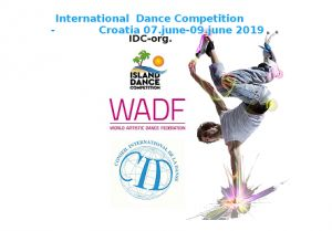 Island dance Competition 2019