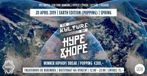 The Kulture of Hype&Hope | 20 April EARTH edition S3 2019