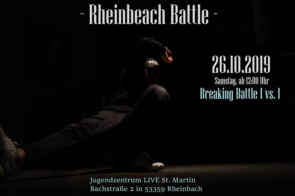 Rheinbeach Battle 2019 poster