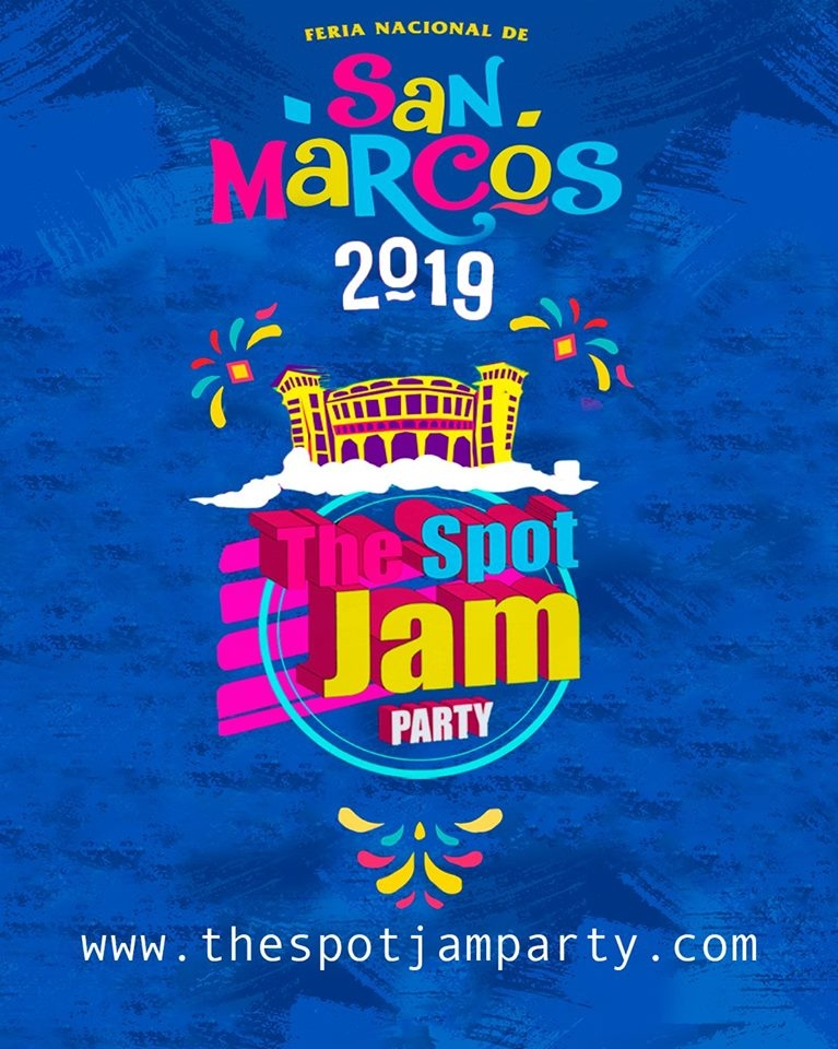 The Spot Jam Party 2019 poster