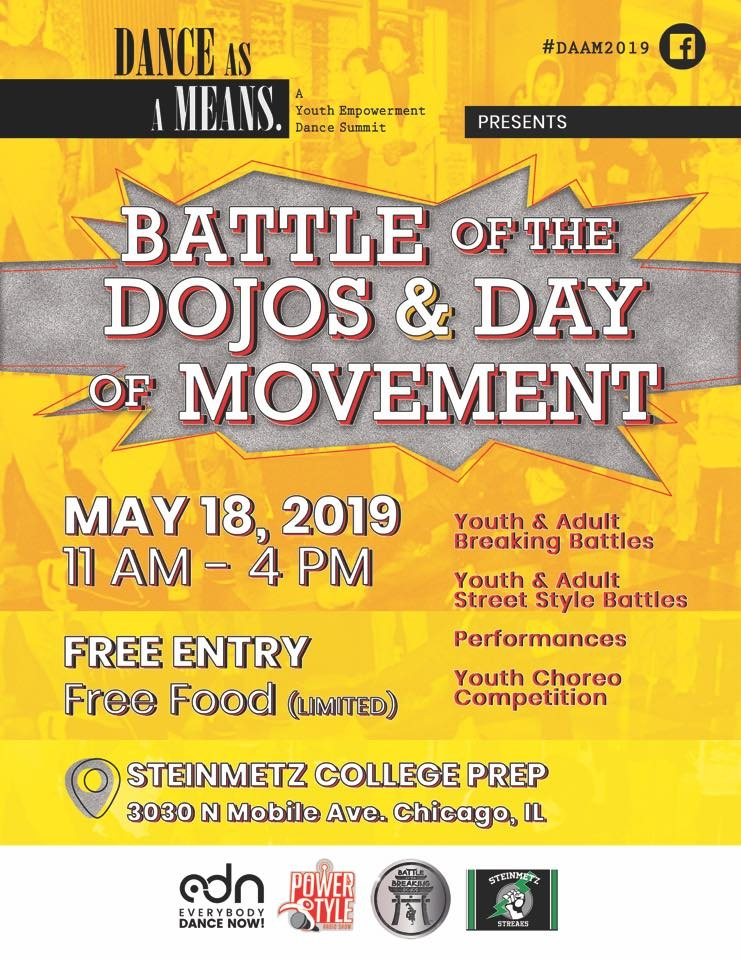 Day of Movement & Battle of the Dojos 2019 poster