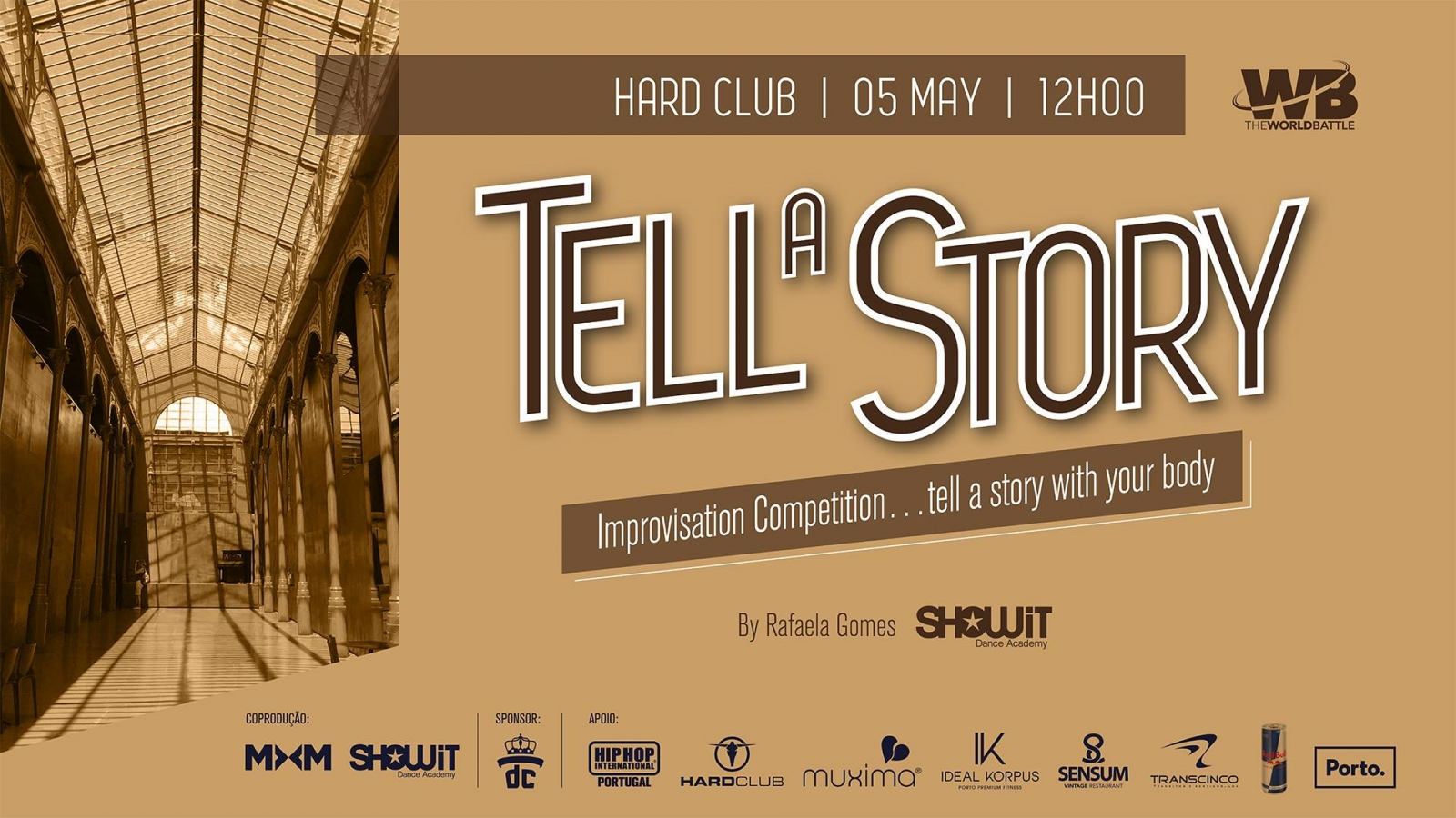Tell a Story 2019 poster