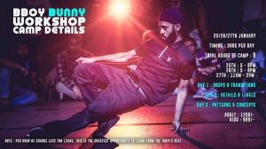 Bboy Bunny Break Camp 2019