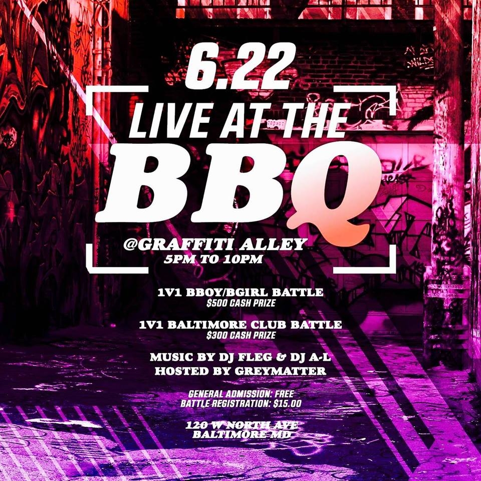 Live at the BBQ 2019 poster
