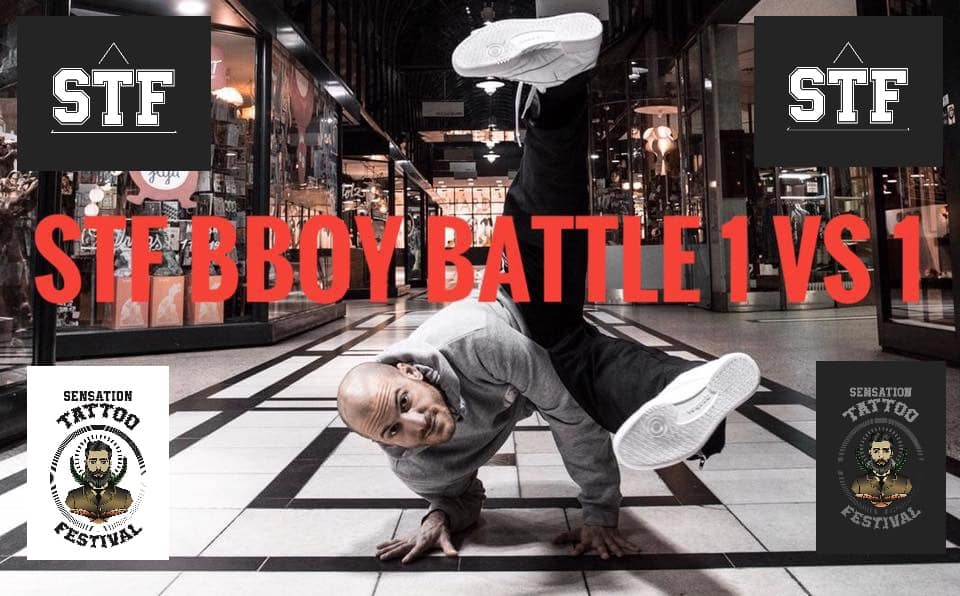 STF BBoy Battle 2019 poster