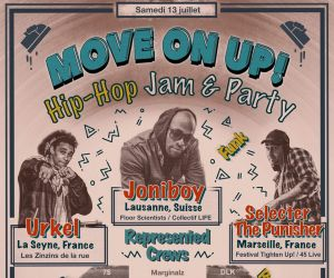 Move On Up! Hip-hop Jam & Party 2019