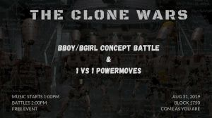 Clone Wars Concept Battle 2019