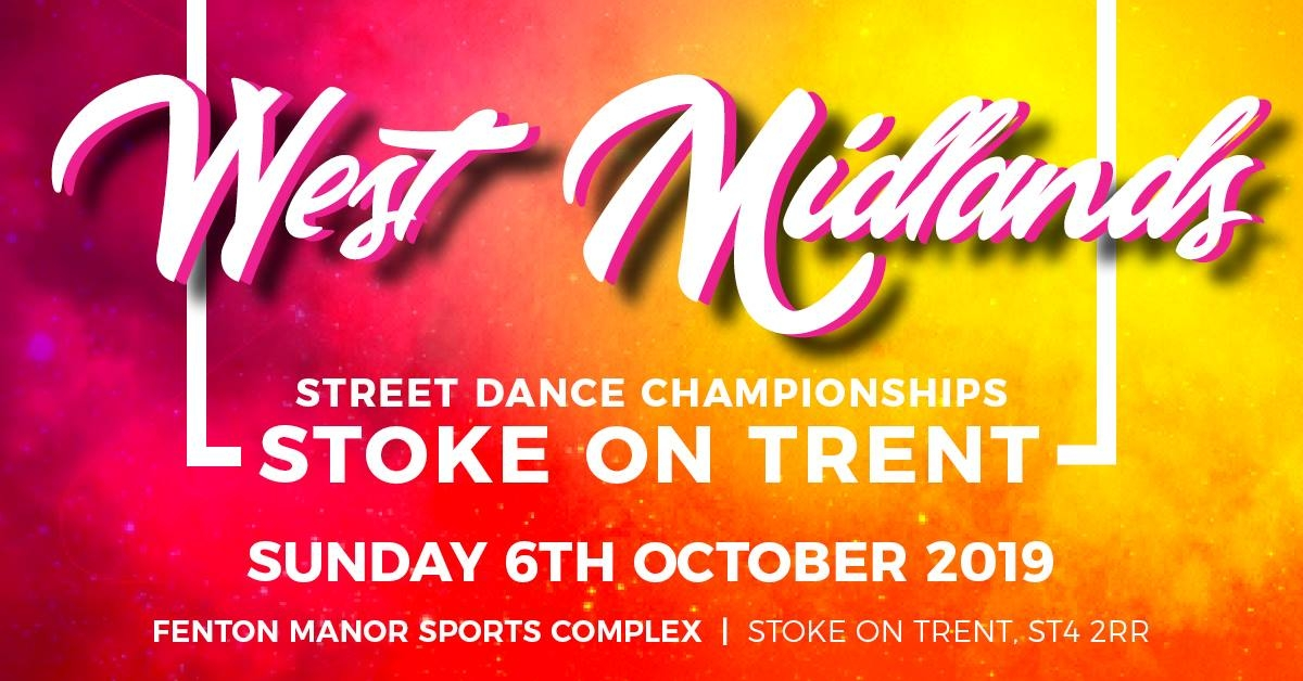 UK Street Dance Challenge - West Midlands 2019 poster