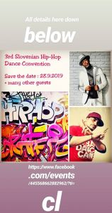 3rd Slovenian Hip-Hop Dance Convention 2019