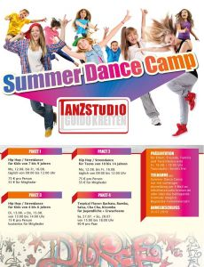 Summer Dance Camp Vurselen 2019