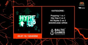 Hype Up 7 na Baltic Games 2019