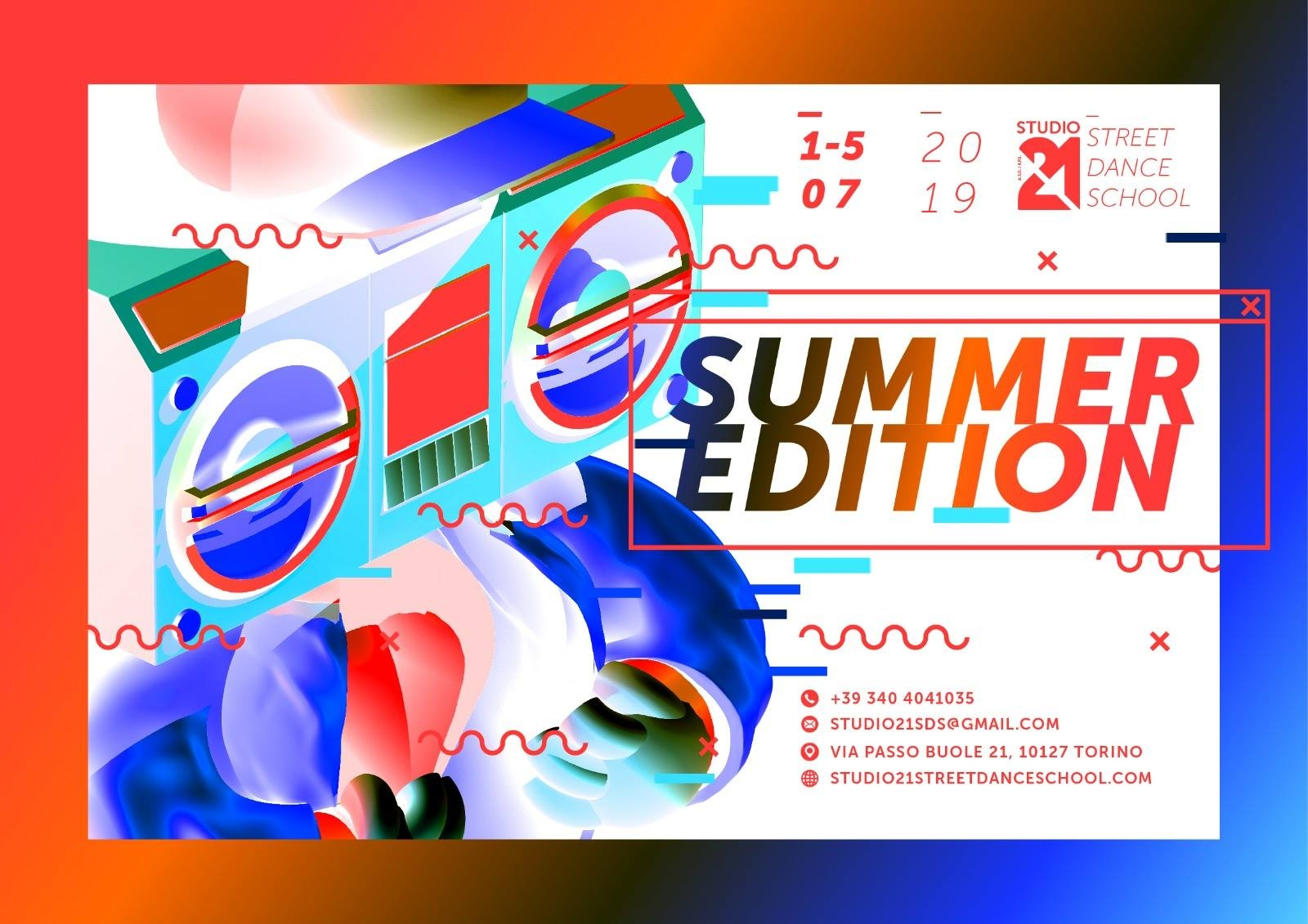 ST21 Summer edition 2019 poster